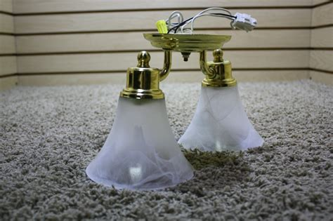 Used Light Fixtures For Sale Rv Interiors Used 2 Globe Motorhome Ceiling Light Fixture