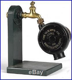water driven motor antique w n mfg co water powered motor fan