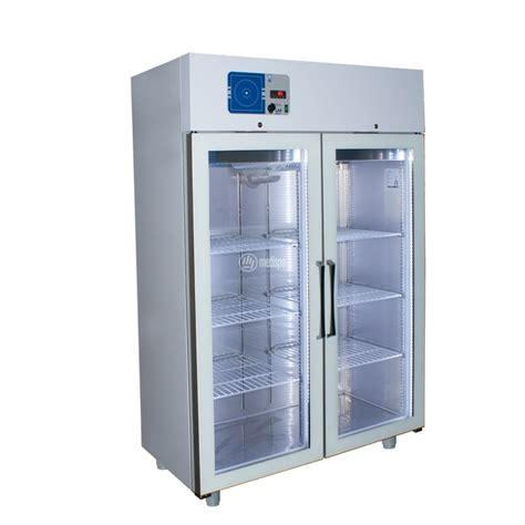 armadi in vetro armadio frigorifero per farmaci doppio con ante in vetro