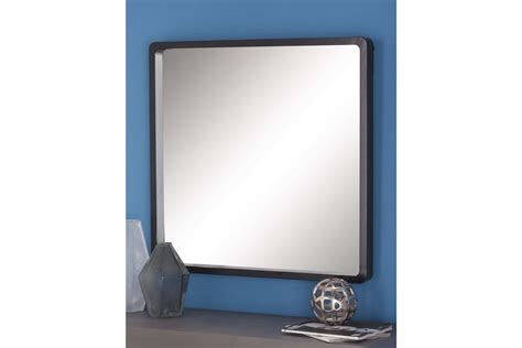 black mirror matt modern reflections 32 quot rounded square wall mirror in matte