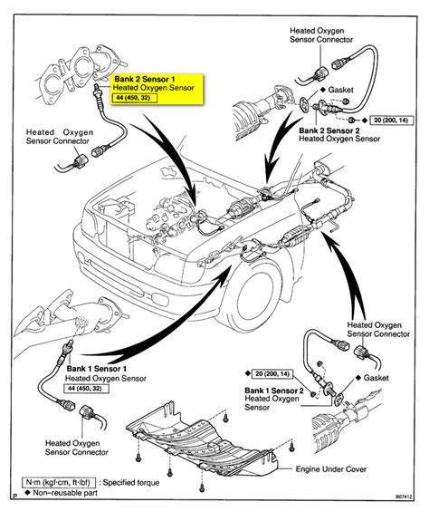 toyota o2 sensor location 2002 get free image about