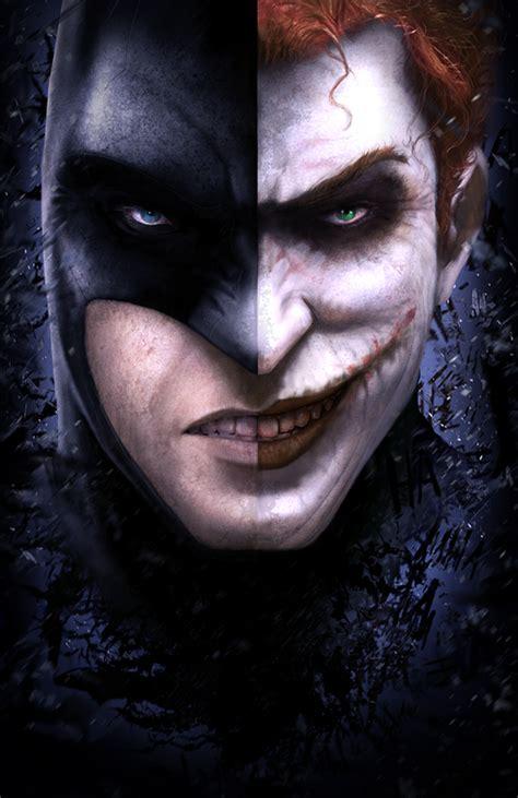 Batman Joker Two Face By Janditlev On Deviantart Drawings Of Joker Faces 2