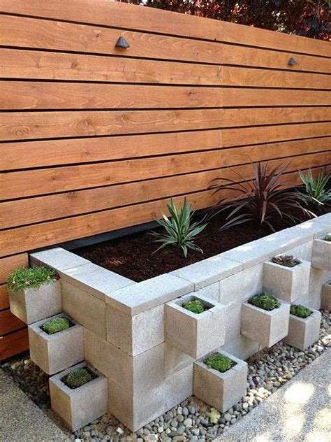 Concrete Block Planter Box by These 14 Diy Projects Using Cinder Blocks Are Brilliant