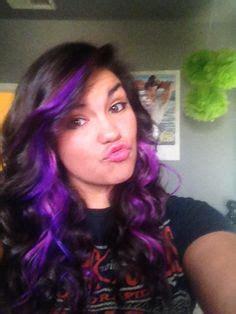 splat bleach results purple hair splat lusty lavender dye and double nostril