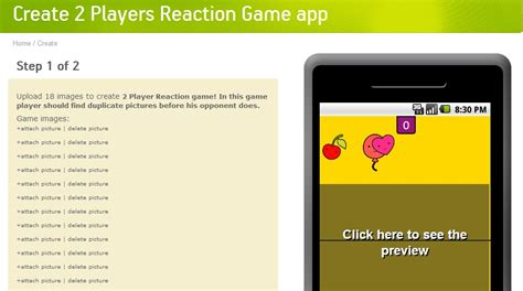 blogger templates for android games new feature 2 player reaction game android app making