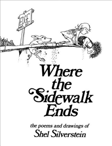 libro where the sidewalk ends the poems and drawings of shel silverstein di shel silverstein