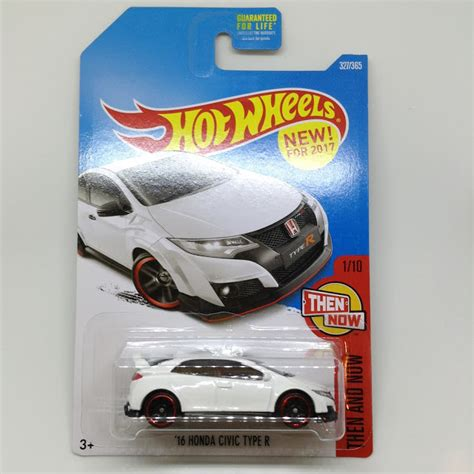 Hotwheels Civic Type R Then And Now julian s wheels 2016 honda civic type r new for 2017 then and now