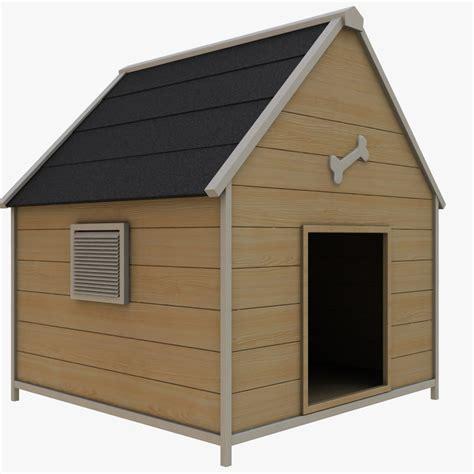 dog house models 3d dog house model