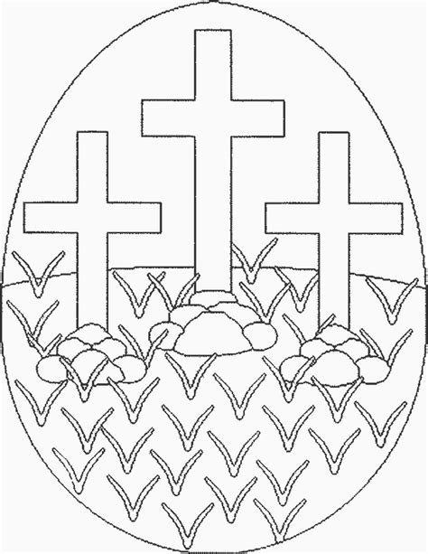 easter cross coloring pages az coloring pages