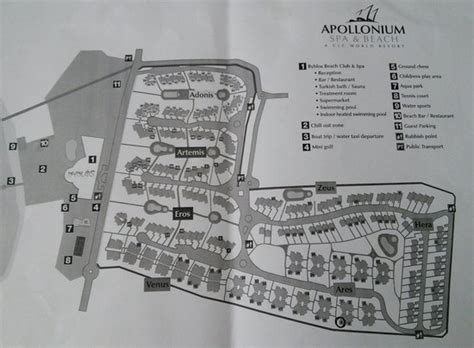 clc map site map foto di clc apollonium spa milas