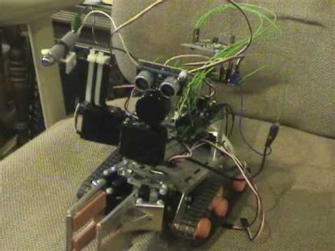 Robots Without Lasers robot with laser gun pointer