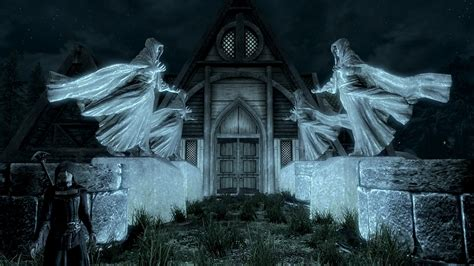 skyrim house mods mage lake house a magical player home at skyrim nexus mods and community