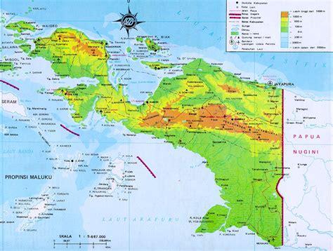 world team papua current maps  papua