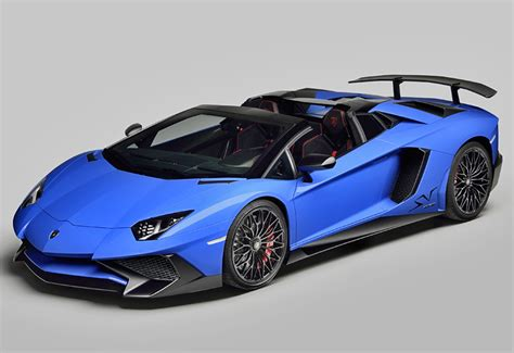lamborghini aventador lp 750 4 superveloce roadster top speed 2016 lamborghini aventador lp750 4 sv roadster specifications photo price information rating