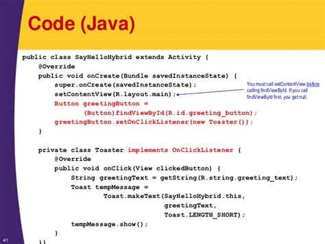 xml tutorial programming android tutorial android programming basics xml java