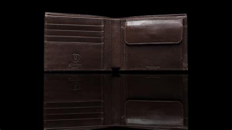 colore testa di moro portafoglio classico in anguilla con portamonete colore