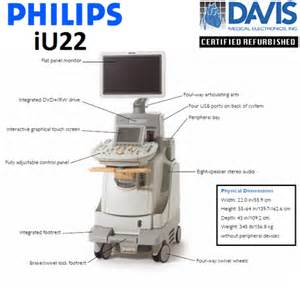 philips iu22 ultrasound system davis medical electronics