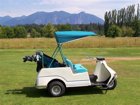 vintage club car golf carts wallpaper