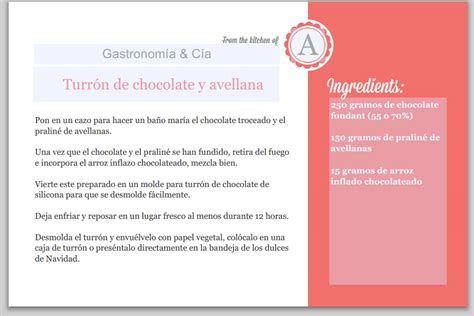 recetas de cocina para imprimir plantillas para escribir e imprimir recetas gastronom 237 a