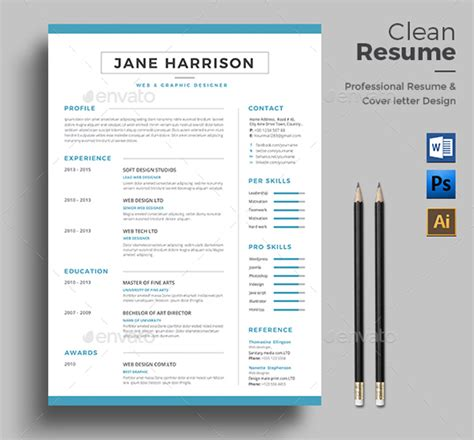 free best professional templates indesign 20 best professional indesign resume cv template 2018