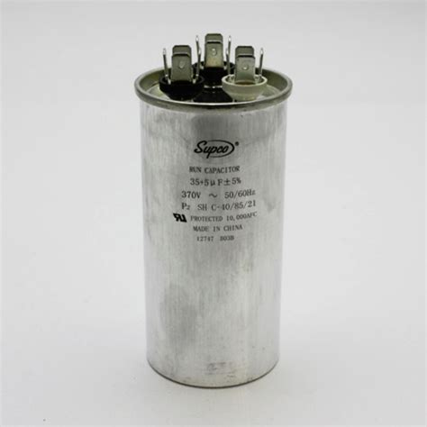 trane run capacitor cd35 5x370r for goodman trane rheem 370v dual run capacitor ebay