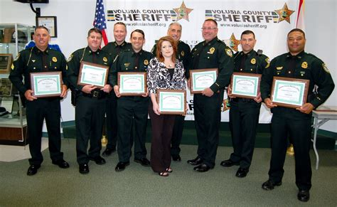 Volusia County Sheriff Office by Sheriff Chitwood Announces Of Promotions