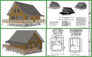Cabin Blueprint Cabin Plans And Designs