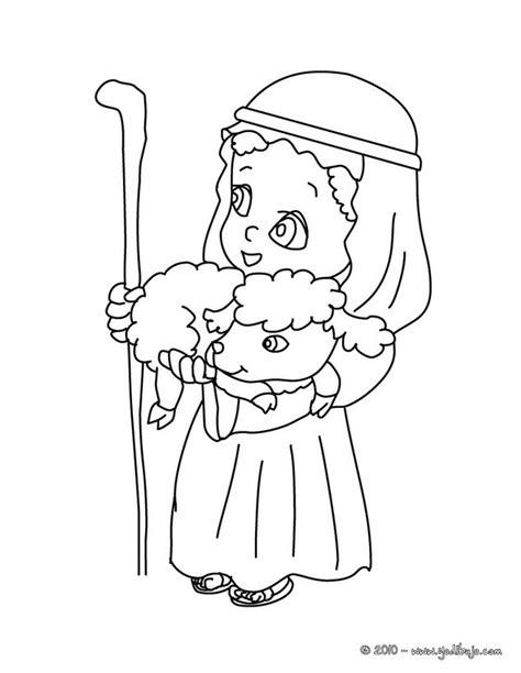 coloring page shepherds christmas maestra de infantil pastores de navidad para colorear