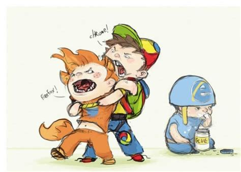 chrome vs firefox chrome vs firefox while internet explorer eats glue