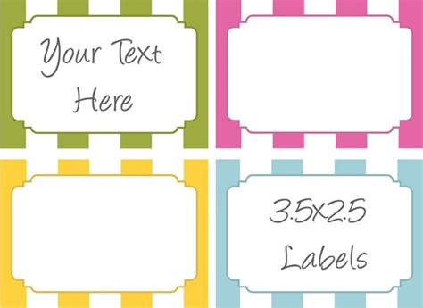oh you crafty gal best of free printable tags labels for bake sale label printables bake sale ideas
