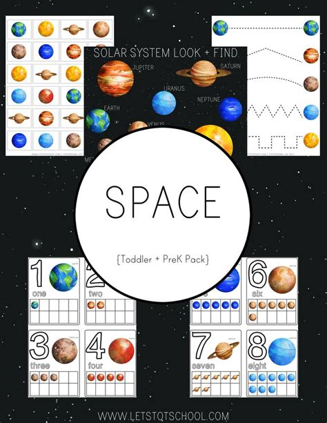 games themes pack space preschool pack spaces tot school and space theme