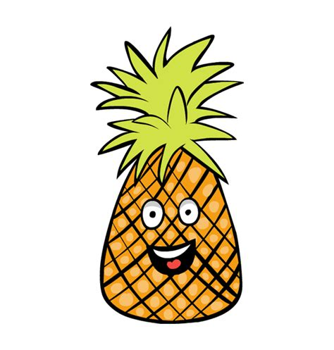 clipart pineapple best pineapple clipart 3192 clipartion