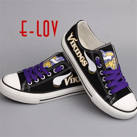 Sale Summer Shoes Nfl Minnesota Vikings Usa Print