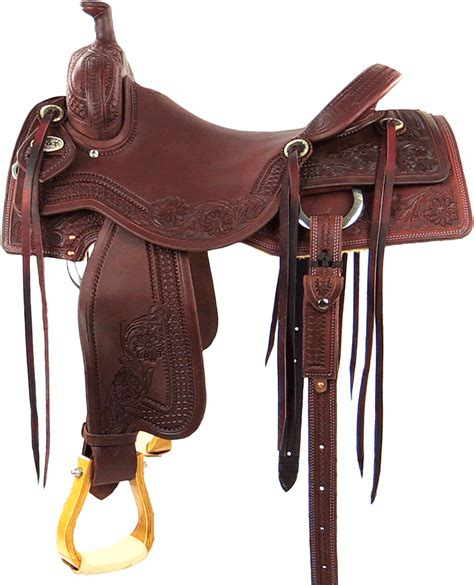 horse saddle western saddle photo