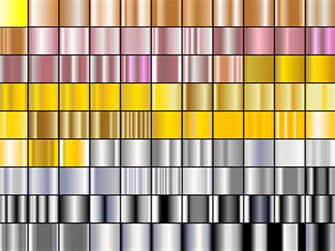 illustrator metal pattern swatches 80 000 gradients 15 000 photoshop layers only 15