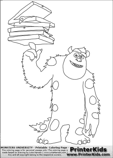 monsters university coloring pages pdf monsters university coloring pages getcoloringpages com