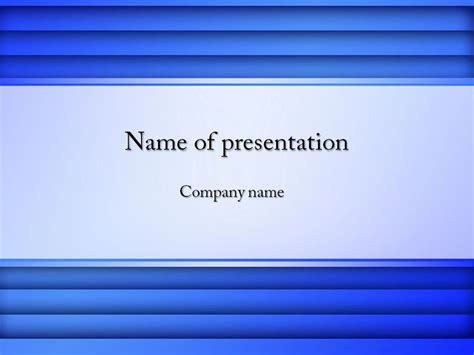 Blue Powerpoint Template Background For Presentation Free Ppt Presentation Free