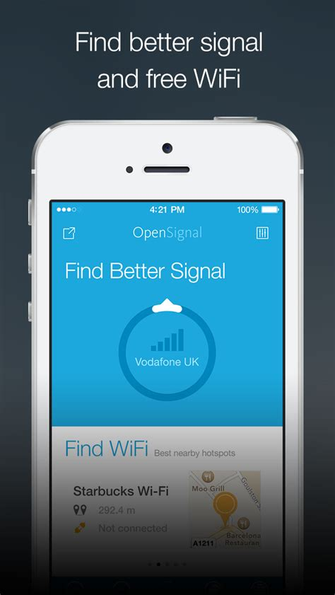 better signal app opensignal signal finder and 3g 4g wifi coverage maps ios