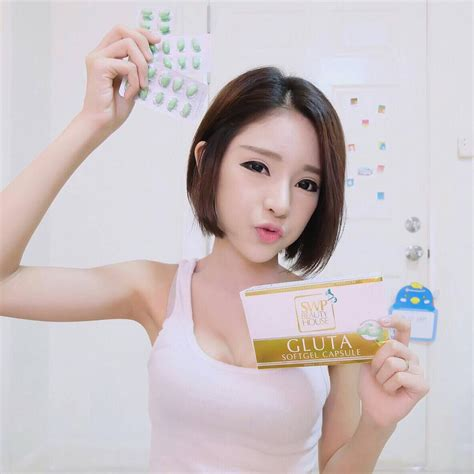 Gluta Sunclara Plus Whitening Supplement Original Thailand gluta swp house softgel whitening skin thailand best selling products shopping