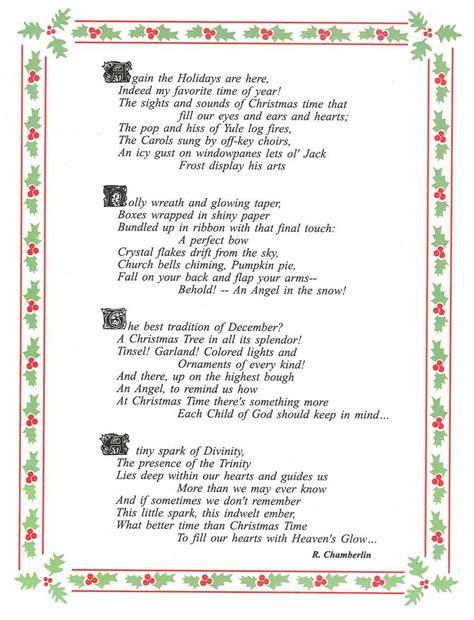 printable xmas poems beautiful christmas poems