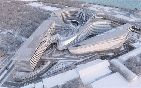 zaha hadid zaha hadid architects doing their magic with modern