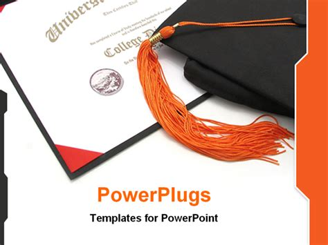 college powerpoint template college diploma templates images