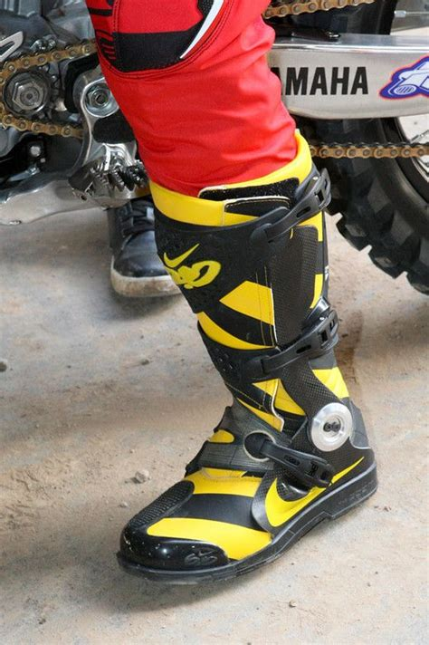 nike motocross boots black yellow nike motocross boots i want