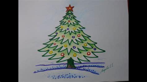 imagenes de un arbol de navidad c 243 mo dibujar un arbolito de navidad en caricatura 193 rbol navide 241 o f 225 cil de dibujar