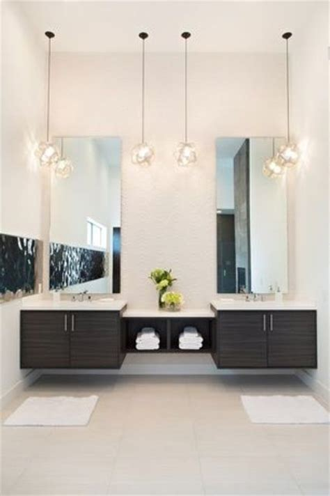 contemporary bathroom pedant lighting ideas for small 25 creative modern bathroom lights ideas you ll love