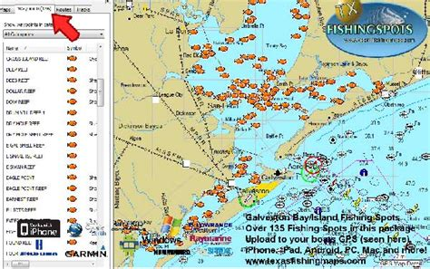 best fishing boat for galveston bay coastal texas fishing spots fishing maps list tx gps