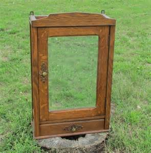 wooden bathroom cabinet with mirror large vintage wooden medicine bathroom cabinet beveled