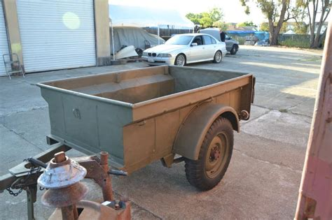 Bantam Jeep Trailer For Sale Classic Automotive 187 Bantam Civilian Jeep Trailer