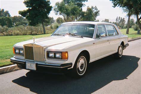 1988 rolls royce silver spur 4 door sedan 116345