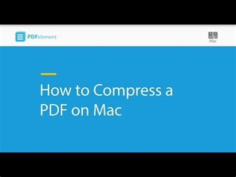 compress pdf app mac how to compress a pdf on mac youtube